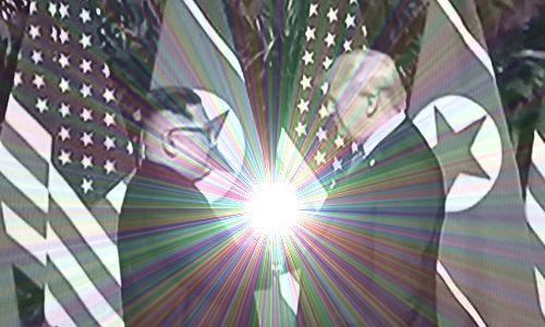 米朝首脳会談 2018年6月12日