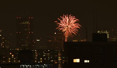 大阪の花火